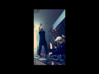 Skrillex and Diplo Present Jack Ü at XS Nightclub Las Vegas Snapchat #163,5