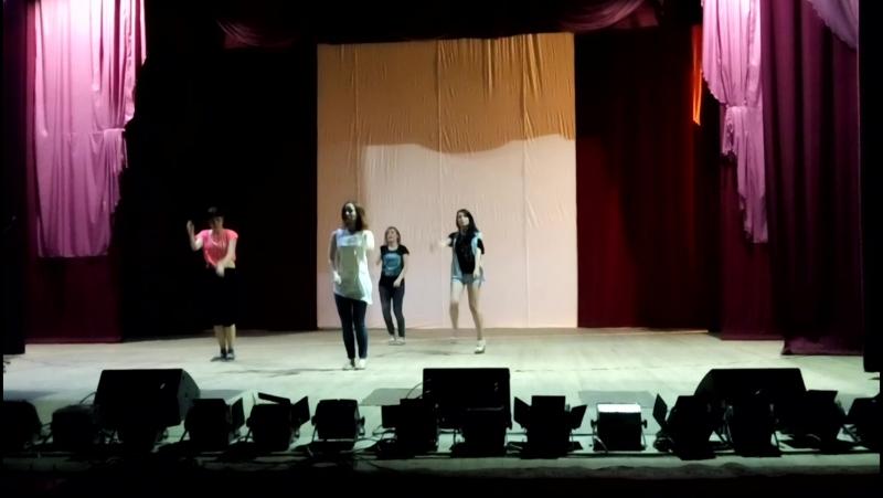 танец-обучалка на Ниджы 2016