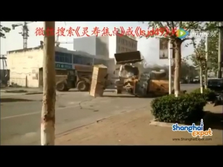 Битва шести погрузчиков в Китае
