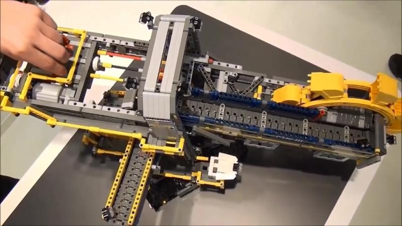 NEW! LEGO Technic Bucket Wheel Excavator 42055