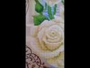 Алмазная мозаика Белые розы 2016