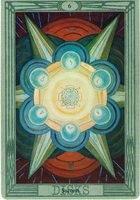 толкование и значение карты 6 шестерка пентаклей таро Тота