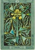 значение карты 3 тройка мечей таро Тота