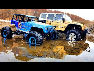 Axial SCX10 Jeep Rubicon vs WLtoys Wild Track (vol. 2) — RC Cars OFF Road 4x4 Adventure
