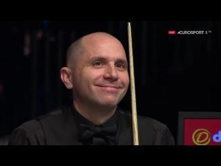 Joe Perry Snooker Escape v Barry Hawkins SF Masters 2017