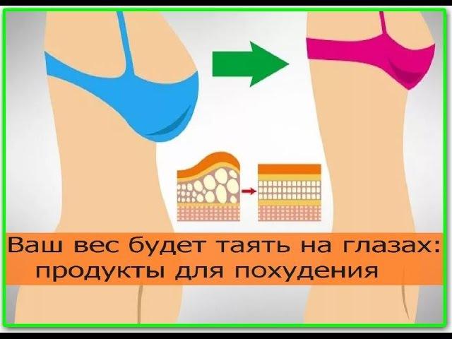 Ваш вес будет таять на глазах: продукты для похудения. Как похудеть быстро в домашних условиях
