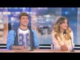 Violetta Live - Entrevista a Tini Stoessel y Jorge Blanco en Bélgica - RTL 12/03/15