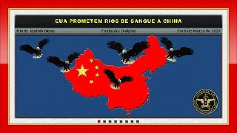 EUA Prometem Rios de Sangue à China
