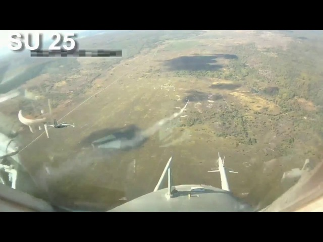 The armed forces of Ukraine su 25 start of the KH 25ML