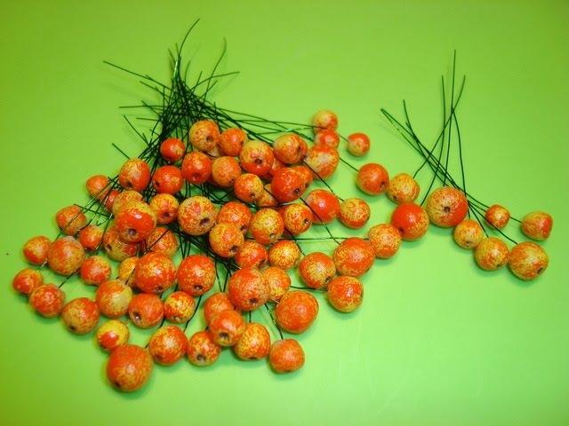 Миниатюрные яблочки из хол. фарфора. Как слепить яблоки. Modeling miniature apples.