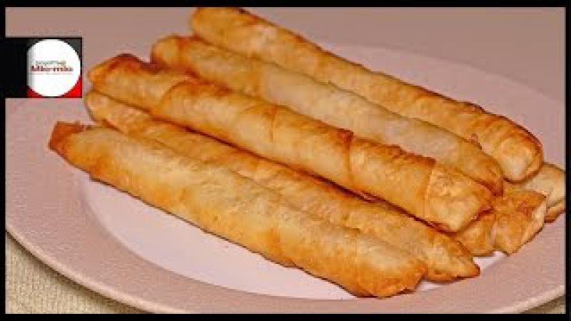 Сигара бурек Sigara börek Турецкая кухня