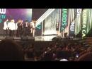 Fancam 170310 Seventeen получили 'Performance Award' на Cable TV Awards