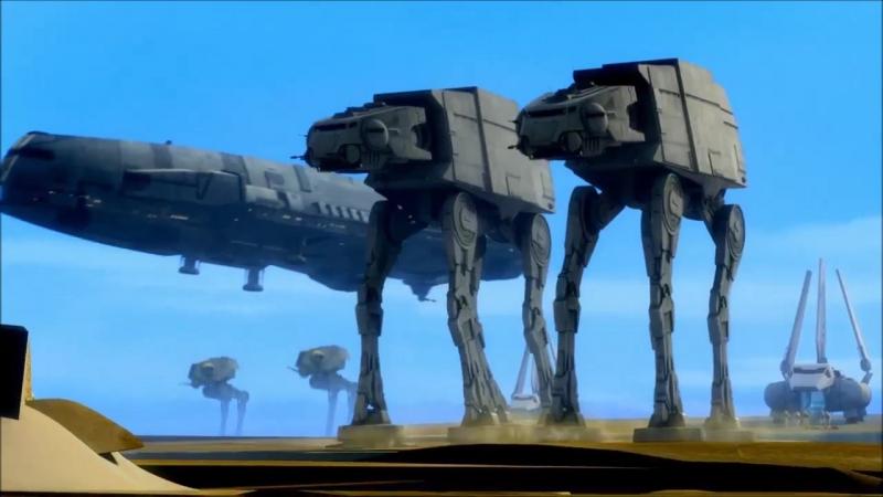 Промо-ролик к 3-му сезону сериала Звездные войны: Повстанцы