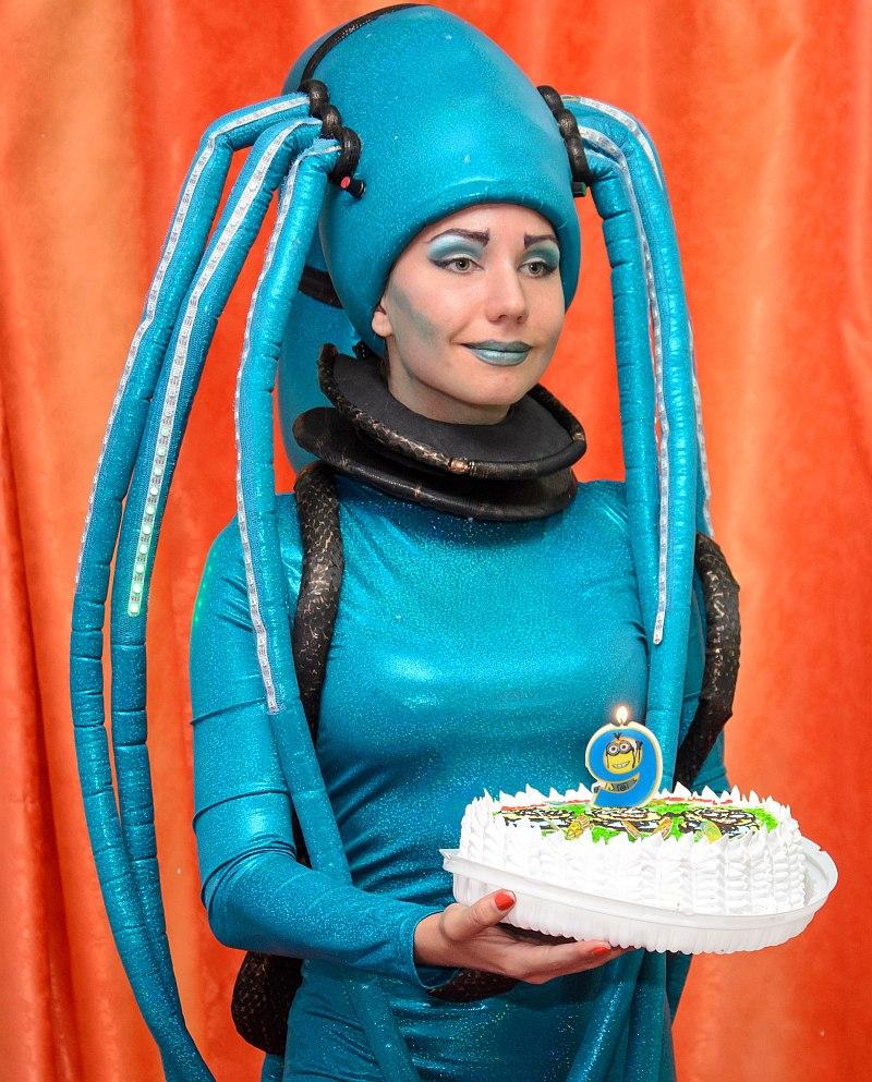инопланетяне на день рождения