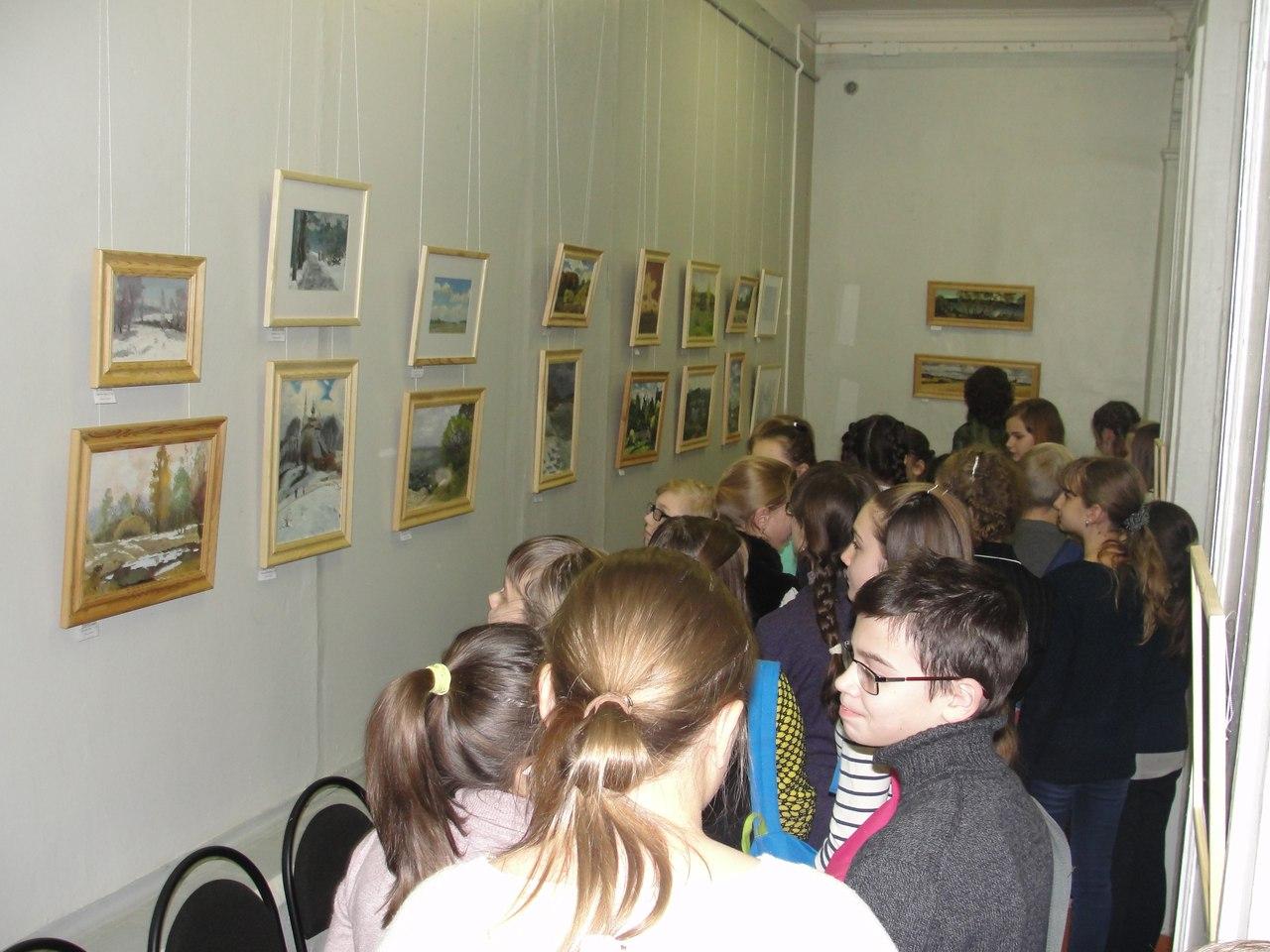 Открылась выставка Варвары и Олега Смахтиных