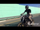 Lara Croft Bike