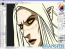 Bhansiths Speedpainting Process Hellboy 2 Prince Nuada Part 2