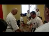 GOJY RYU BU JITSU  Гришняков Александр Кушнир Александр  ...семинар г Одесса 2916