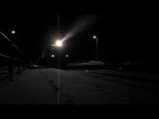 Троллинг от бригады ЭД4М-, 2060км, перегон Бишкиль - Полетаево