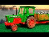 Трактор и Грузовичок Мультики про МАШИНКИ Развивающие мультфильмы для детей
