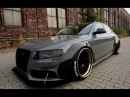 Audi A4V8 DTM carbon widebody by wojtsen