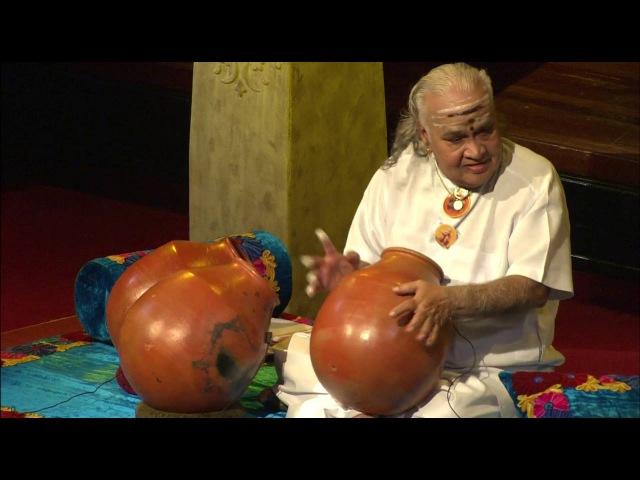 MERU Concert - Padma Bhushan Vikku Vinayakram on Ghatam