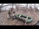 Весенняя охота на селезня с манком и чучелами Spring hunting duck decoy with stuffed and