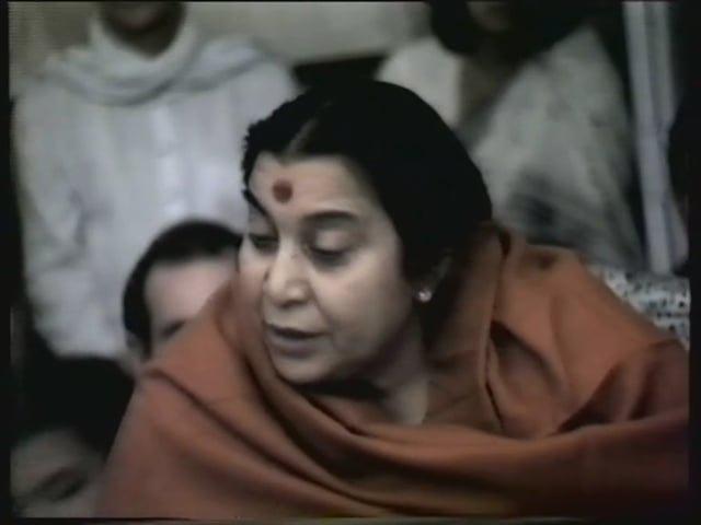 Meeting with Shri Mataji at Yogi Mahajan house