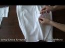 Как качественно и незаметно укрепить разрез юбки