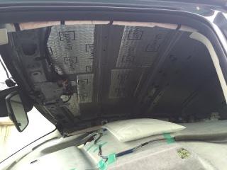 Шумоизоляция автомобиля своими руками Mazda cx 5 крыша,потолок