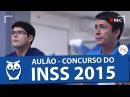 Ao Vivo   Aulão para o Concurso do INSS