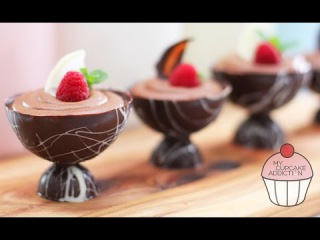 Chocolate Mousse Recipe - 2 Ingredients and OH SO EASY!   My Cupcake Addiction