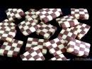 Cách làm bánh quy bàn cờ Ванильно-шоколадное шахматное печенье Checkerboard Cookies Recipe Video