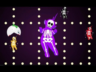 skeleton teletubbies Learn Colors With Pacman for Kids learn colours for children