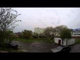 timelapse Костопіль ,дощ