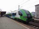 Электропоезд EN64-001/005 сообщением Пшемышль-Жешув. Electric train, PKP