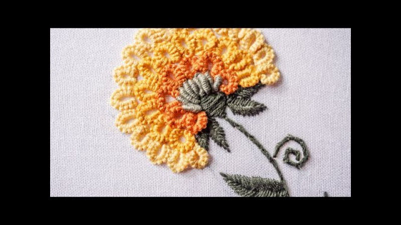 Hand Embroidery | Stitching Tutorial by Hand | HandiWorks 89
