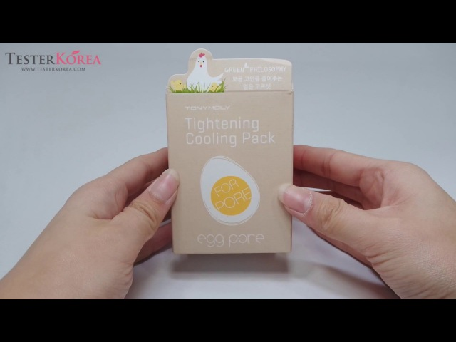 [TESTERKOREA] TONYMOLY Egg Pore Tightening Cooling Pack