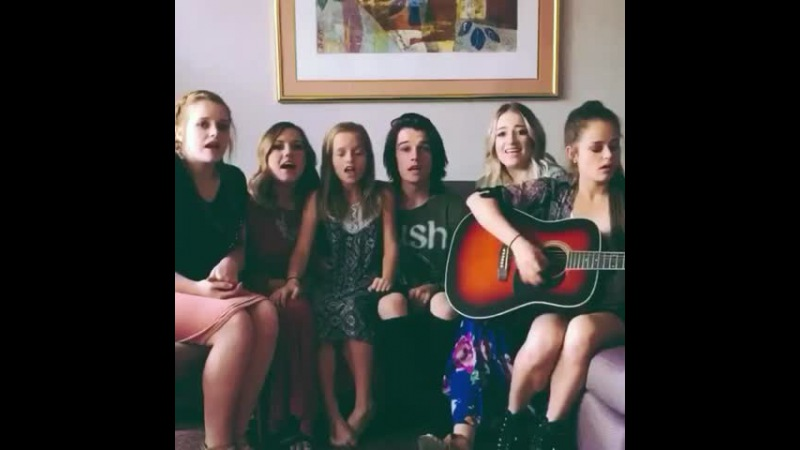 Love Yourself by JB with my 5 sisters ❤️ Full video on my instagram. Username: kennyholland