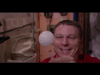 Астронавты МКС сняли на видео шипучую таблетку в невесомости