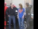 INSTAGRAM Clark Gregg, Chloe Bennet and Melissa Benoist
