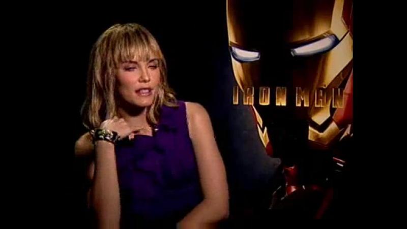Железный человек/Iron Man (2008) Интервью Лесли Бибб