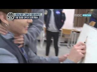 161105 Making Film for 'Flower Boys Bangtan High School' @ MBC MUSIC Star Show 360