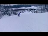 Галочка и лыжи ) в Золотой Долине