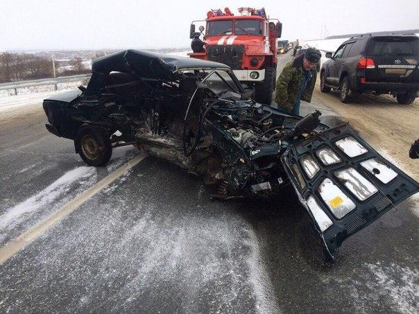 На трассе Саранск-Чамзинка произошла страшная авария, которая унесла ж