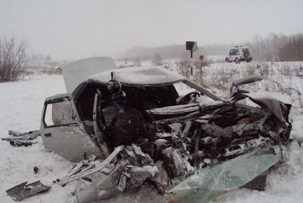 В Нижегородской области произошла авария, в которой пострадали несколь