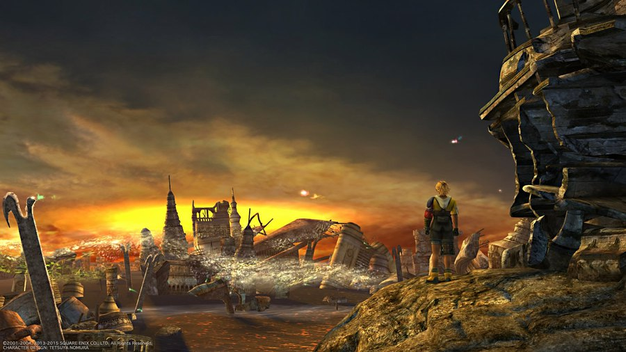 Final Fantasy X X-2 HD Remaster (2016) PC от CODEX - Скриншот 1