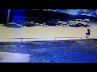 Видео с камеры наблюдения׃ в кадре пропавшая школьница