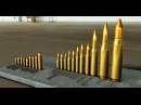 Ammunition Comparison - .22 LR to 14,5x114 mm 20 mm Vulcan!! - Modeled in Autodesk Inventor