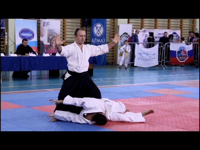 Agatsukan Daito ryu Aikijujutsu Demo in Moscow